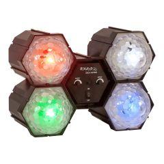 Ibiza JDL4-ASTRO 4-LED Light Crystal Running Ball DJ Effect Light Disco