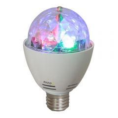 Ibiza Light Mini LED RGBA Astro Rotating Party Light