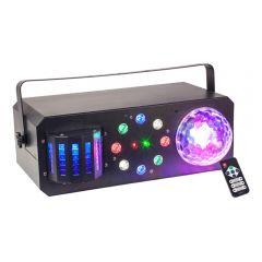 Ibiza Light Combi-FX 1 LED BoomBox Multi Effect Light inc. Remote