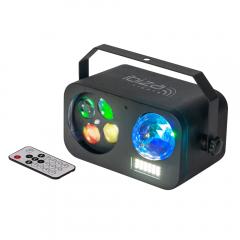 Ibiza Light Combined light Effect Astro-Strobo-Gobo Beam 3-In-1