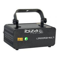 Ibiza LZR200RGB Multi Laser Effect RGB Firefly Disco DJ Light DMX
