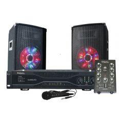 Ibiza Sound DJ350LED 500W PA Sound System