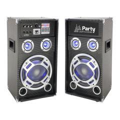 """Ibiza Party Karaoke 8"""" Sound System 300W"""