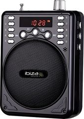 Ibiza Sound PORT1 Portable Speech PA System