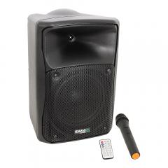 Ibiza Sound MOV8-CD Portable PA Speaker inc. CD Player, Bluetooth, USB and Wireless Mic