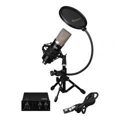 Monacor PODCASTER-1 Recording Bundle