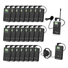 Stageline Tour Guide Translation Tourguide Wireless System for Group of 24 People