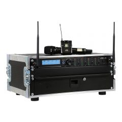 JTS 4-Way R-4 'All Racked Up' Complete Wireless System inc. Mics & Flightcase