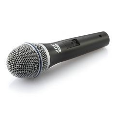 JTS TX-8 Dynamic Vocal Performance Microphone inc Clip + XLR Cable