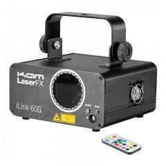 Kam iLink 60G Green Laser Lighting Effect 40mW inc IR Remote