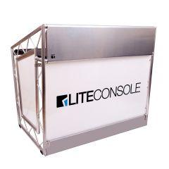 LiteConsole XPRSlite V2 Aluminium Mobile DJ Stand Booth