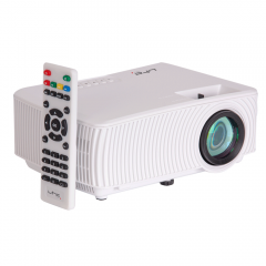 LTC Compact LED Video Projector 1000 Lumen HDMI VGA WIFI