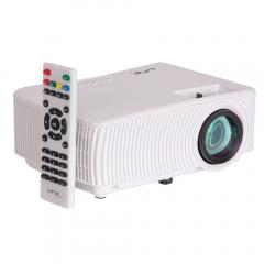 LTC Compact LED Video Projector 1000 Lumen HDMI VGA WIFI