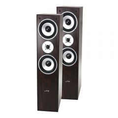 LTC 350W Floor Standing Speakers (Walnut)