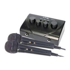 LTC Karaoke Sound Mixer inc. 2x Mics