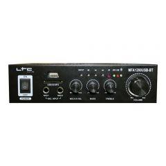 LTC MFA-1200 Black Stereo Amplifier USB Bluetooth HiFi Sound System 2 x 50W