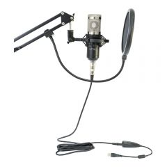 LTC STM200-PLUS USB Microphone for Recording & Podcasting inc Mount Arm, Cable