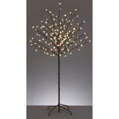 Premier 1.5M Warm White LED Cherry Tree Christmas Lighting Effect