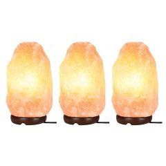 3x Lyyt Dimmable Himalayan Rock Salt Lamp