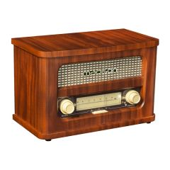 Madison Rechargeable Vintage Radio with USB & Bluetooth