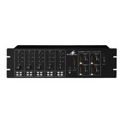 Monacor PA-4040MPX 4 Zone Mixer Background Sound System PA