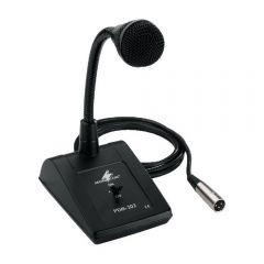 Monacor PDM-302 Dynamic Desk Microphone Paging Mic Sound System PA