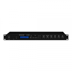 IMG Stageline SA-130DMP Rack Mixer Bluetooth USB