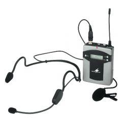 Monacor TXA-800HSE Beltpack Transmitter for TXA-1000, TXA-800, TXA-1022CD