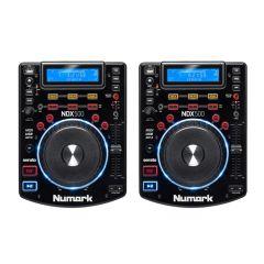 2x Numark NDX500 Professional CD Player USB CDJ Deck Disco DJ Player