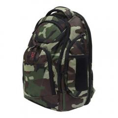 Odyssey Backtrak 'XL' DJ Backpack In Green Camo