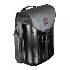 Odyssey Battle Pack Hard Shell DJ Backpack In Charcoal Black