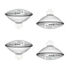 4x Omnilux 1000W PAR64 VNSP Replacement Lamp (Bundle)