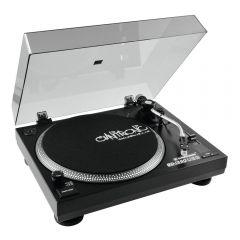 Omnitronic BD-1390 USB Turntable Record Player Vinyl Belt Drive DJ HiFi Sound System