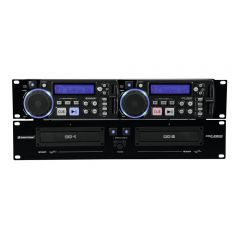 Omnitronic XCP-2800 Rack Installation Dual CD Player