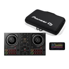 Pioneer DDJ200 Smart DJ Controller for Smartphones and Streaming inc Carry Case