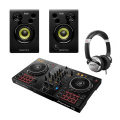 Pioneer DDJ400 Smart DJ Controller With Monitor And Headphone Bundle