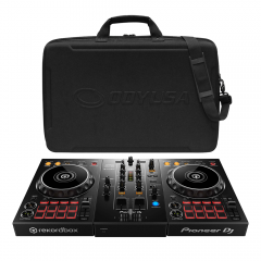 Pioneer DDJ400 2Ch DJ Controller For rekordbox DJ Software Plus Odyssey Case