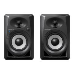 "Pioneer DJ DM40BT 2-Way 4"" Active Speaker 21W With Bluetooth PAIR BLACK"