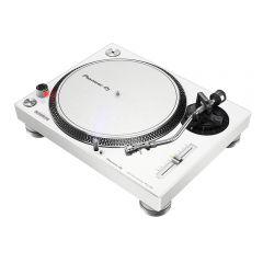 Pioneer DJ PLX500 WHITE PRO DJ Hi Torq S-Tonearm Direct Drive Turntable