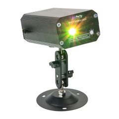 Party Light and Sound Mini Gobo Laser Effect Light