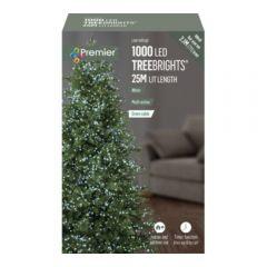 Premier 1000 LED Multi Action Christmas TreeBrights White 25M