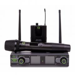Q Audio QWM1950 HH + BP CH38 UHF Microphone System