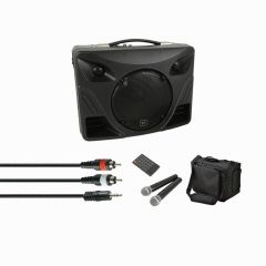 QTX Delta 50 Portable Sound inc. Carry Bag and Cable