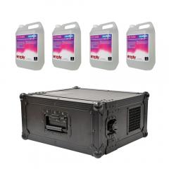 QTX HAZYR-PRO 1000W Haze Machine Hazer DMX & Remote Control & 20L Haze