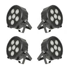 QTX High Power COB LED PAR Can (Bundle)
