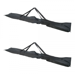 2x QTX Universal Carry Bags for Lighting Stands
