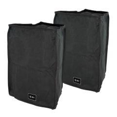 "2x QTX QR8 / QR8A Slip Cover Case for 8"" Speaker"