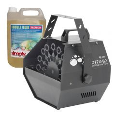 QTX QTFX-B2 Bubble Machine inc 5L Fluid