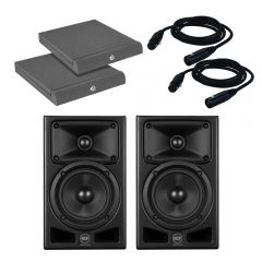 "RCF Ayra Pro 6 Active Studio Monitor 6.5"" Speaker Professional Bundle inc Pads"