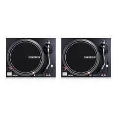 2x Reloop RP-4000M MK2 Direct Drive Turntables (Black)